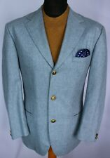 Versace Blazer Jacket Blue 40R FANTASTIC GARMENT 2969