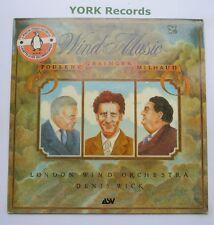 ALH 913 - POULENC / GRAINGER / MILHAUD - Wind Music DENIS WICK - Ex LP Record