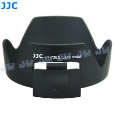 JJC Lens Hood for CANON EF-S 17-85 f4-5.6 IS USM SLR as EW-73B,Filter Adjustable
