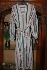 ULLA JOHNSON Striped Cotton Selvi Tie Waist Dress Sky Womens Size 10