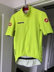 Castelli GABBA Gore WindStopper Visible Short Sleeve Aero Cycling Jersey Large
