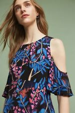 $148 Anthropologie  Elia Open-Shoulder Dress size 16 new nwt