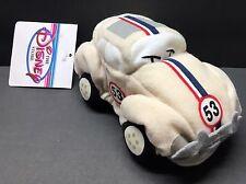 "DISNEY STORE Herbie The Love Bug VW Car Mini Bean Bag Plush 6"""