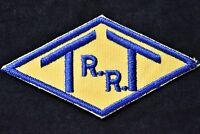 Vintage Railroad Sew On Patch Toledo Terminal Railroad Ohio Railroadiana
