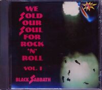 Music CD Black Sabbath We Sold Our Soul For Rock N Roll Volume One Sealed Album