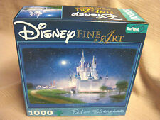 "New DISNEY FINE ART 1000 Pc PUZZLE ""Cinderella's Grand Arrival"" PETER ELLENSHAW"