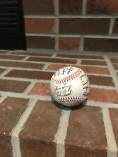 Chicago Cubs 1984 Autographed Team Baseball