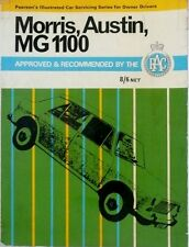 MORRIS,AUSTIN,MG1100. PEARSON'S ILLUSTRATED CAR SERVICING SERIES FOR OWNERS