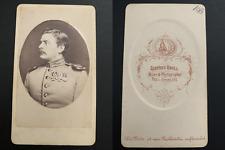 Krull, Neu-Strelitz, Graf von Bernsdorf Vintage albumen carte de visite, CDV. Al