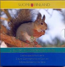 Finland 2004-2009 : set met 7 x 2euro /Also with the rare 2004 and 2008!!