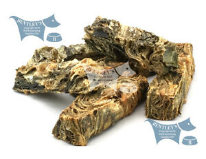 "Sea Jerky Fish Skins, The Healthy DENTAL ""STICK"" alternative! - Chunky Fingers"