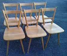 6 chaises bombenstabil design 50/70 chair stuhl
