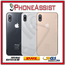 TELAIO SCOCCA + VETRO POSTERIORE Per Apple iPhone XS BACK GLASS COVER HOUSING
