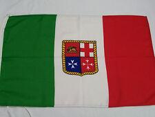 BANDIERA ITALIA MERCANTILE CM 100 X 150 PER BARCHE NAVI ITALIANA MARINARA MARINA
