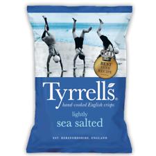 Tyrrells Crisps   Lightly Sea Salted Flavour   Full Case 24x40g