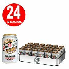 24 x 0,33L Dosen San Miguel Especial spanisches Lagerbier  5% Vol inklusi 4,2€/L
