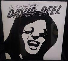 DAVID PEEL - An Evening With - LP Record 1975 Orange Still Sealed