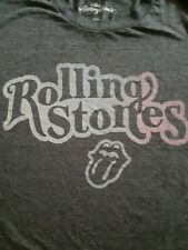 New Rolling Stones Gray Short Sleeves Crew Neck  T Shirt Size xxl American Eagle
