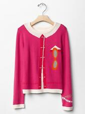 NWT Gap Kids Kate Spade New York Girl  Cardi Graphic Sweater L 10