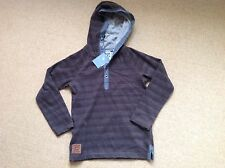 New With Tags Brown Hooded Top By Tu At Sainsbury In Size 6 Yrs