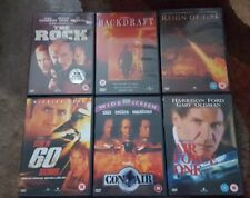 The Rock, Backdraft, Reign of Fire, Gone in 60 Secs, Con Air, Air Force One DVD.