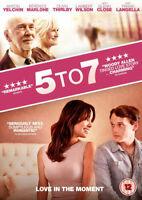 5 to 7 DVD (2016) Anton Yelchin, Levin (DIR) cert 12 ***NEW*** Movie Gift Idea