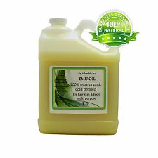 Australian Emu Oil 100%Pure Emu Oil By Dr.Adorable One Gallon Free Shipping