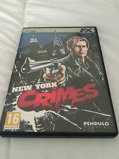 New York Crimes Pc Dvd Rom FX Interactive
