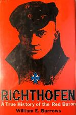 Richthofen (Red Baron) By William E. Burrows, HBE, 1969 1st Ed