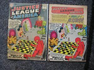 Justice League of America #1 (1960) LOGO CUT FAIR(1.0) w/REPRO COVER