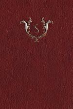 Monogram Red 150 Blank: Monogram S Blank Book by N. D. Services (2017,...