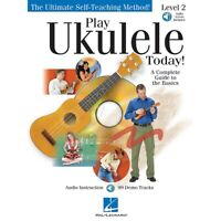 Play Ukulele Today! Level Two Play Today Instructional Series  Audio Online
