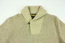 Ralph Lauren Rugby Shawl Collar Wool Pullover Sweater Size XL