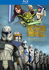 Star Wars: The Clone Wars - The Complete Seasons 1-5 (Blu-ray Disc, 2013,...