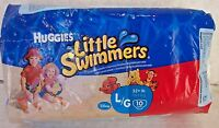 10-Count Huggies Little Swimmers Swim Pants Large 32+lb Nemo and Winnie the Pooh