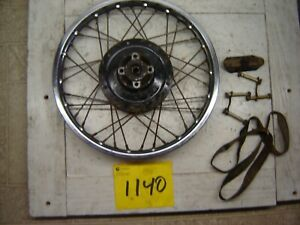 YAMAHA YZ80B YZ 80B REAR WHEEL 1974 1975 1976