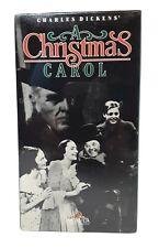A Christmas Carol [VHS] Movie BRAND NEW FACTORY SEALED