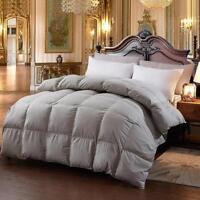 100% Goose Down Blanket Comforter Duvet Bedding Throw Quilt Soft Filler Winter