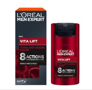 L'Oreal Paris Men Expert Pure Vita Lift Total Anti-Aging Cream 50 ml.