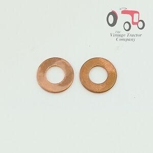 Massey Ferguson Copper Washer - Injector Sealing MF135, 240 (Set of 3)