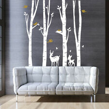 Tree Forest Nature Wall Sticker Home Decor Removable Living Room Bedroom DIY