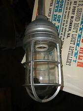 Vintage Industrial Light on Gooseneck Arm - Blast Proof Factory Light Appleton