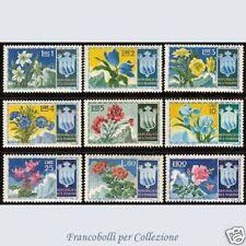 1953 San Marino Fiori I emissione n. 400/408 Integri **