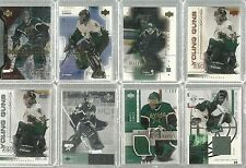 Marty Turco 108 Cards Upper Deck Hockey Exclusives Gold Patches Signature