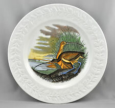 Adams China The Birds Of America Dinner Plate Long Billed Curlew England
