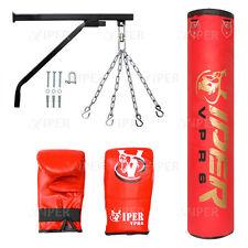 rempli boxe sac de frappe Support chaîne Coup de Pied MMA Gym Fitness UFC