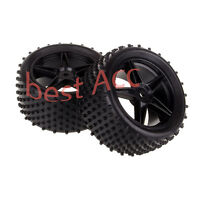 2PCS Rear Wheel Rim + Rear Tyre Tire 06026 HSP RC Off-Road Buggy 1:10