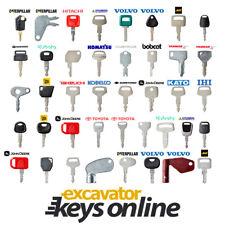 Excavator Key Ultimate Set 41 Excavator Keys