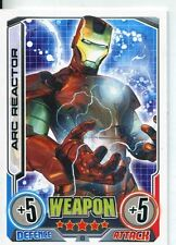 Marvel Hero Attax Series 2 Base Card #181 Arc Reactor [Iron Man]