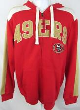San Francisco 49ers Mens Size X-Large Full Zip Hoodie Sweatshirt A1 2579